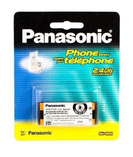 P 105 PANASONIC CORDLESS PHONE