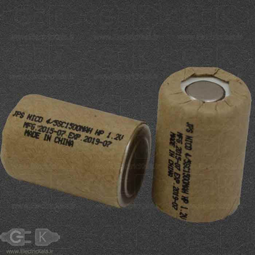 BATTERY 4/5SC1500MAH1.2V JPS
