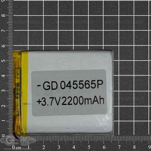 تصویر باتری لیتیوم پلیمر3.7 ولت 2200 mah