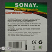 Sonay T500 Battery