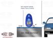 تستر رنگ خودرو دیجیتالی مدل EM2271  | digital thickness gauge coating meter car