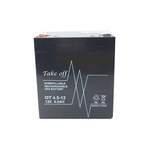 باتری سیلد اسید 12 ولت 4.5 آمپر TAKEOFF مدل TO1245