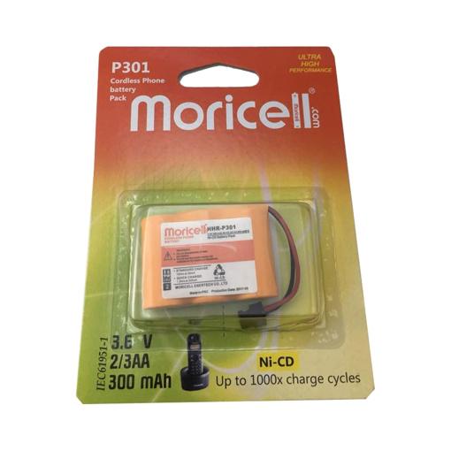 باتری تلفن بیسیم موریسل مدل P301