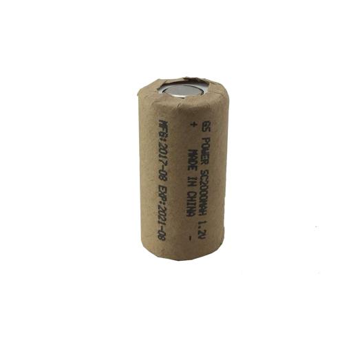 باتری شارژی SC 2000 mAh مدل GS power