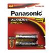 باتری قلمی Panasonic Alkaline بسته ۲ عددی