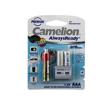 باتری نیم قلم قابل شارژ دوعددی مدل AAA camelion