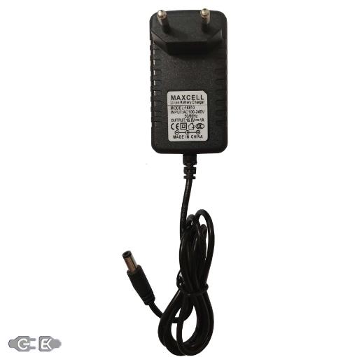 شارژر باتری لیتیومی 16.8 ولت 1 آمپر مکسل مدل 16810
